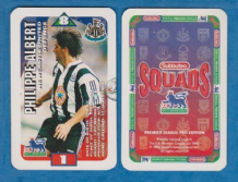 Newcastle United Philippe Albert France S97